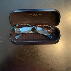 Coach Glasses Frames - Teal/Brown